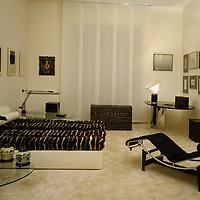 Architects Patrizio Paris and Patrizia Pietrogrande, 1982
