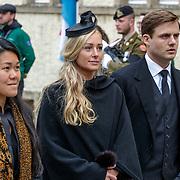 LUX/Luxemburg/20190504 -  Funeral<br /> of HRH Grand Duke Jean, Uitvaart Groothertog Jean, Roemenie
