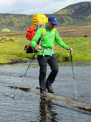 09-07-2014 ISL: Iceland Diabetes Challenge Dag 5, Emstrur<br /> Van Alftavatn naar Emstrur / Bas