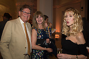 JOHN MADEJSKI; CLAIRE HALL; BASIA BRIGGS, Opening of The New Royal Academy of arts, London. 15 May 2018