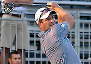 ST. LOUIS, MO - AUGUST 09: Ryan Fox of New Zealand tees off on the #1 hole during the first round of the PGA Championship on August 09, 2018, at Bellerive Country Club, St. Louis, MO.  (Photo by Keith Gillett/Icon Sportswire)