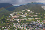 Aerial, Kamehameha Schools, Honolulu, Hawaii