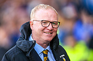 Scotland manager Alex McLeish ahead of the International Friendly match between Scotland and Belgium at Hampden Park, Glasgow, United Kingdom on 7 September 2018.