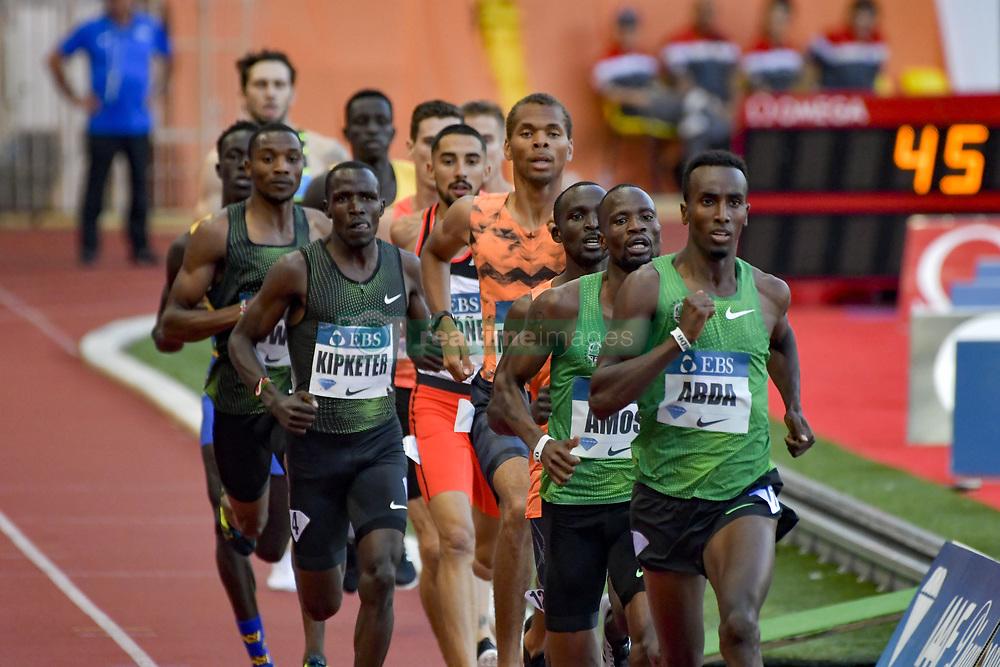 July 20, 2018 - Monaco, France - 800 metres hommes - Harun Abda (Etat Unis) - Nijel Amos (Botswana) - Alfred Kipketer  (Credit Image: © Panoramic via ZUMA Press)
