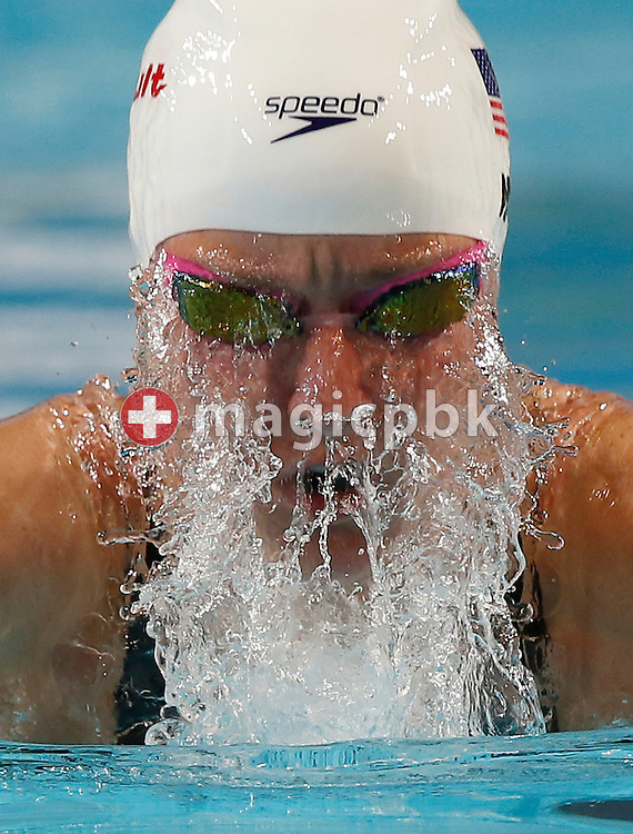 Jessica HARDY of the United States of America (USA) competes in the women's 50m Breaststroke Heats during the 11th Fina World Short Course Swimming Championships held at the Sinan Erdem Arena in Istanbul, Turkey, Wednesday, Dec. 12, 2012. (Photo by Patrick B. Kraemer / MAGICPBK)
