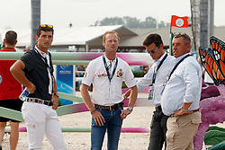Philippaerts Nicola, Bruynseels Niels, Philippaerts Olivier, Philippaerts Ludo, <br /> World Equestrian Games - Tryon 2018<br /> © Hippo Foto - Sharon Vandeput<br /> 23/09/2018