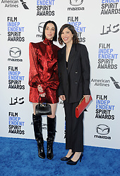 St. Vincent and Carrie Brownstein at the 35th Annual Film Independent Spirit Awards held at the Santa Monica Beach in Santa Monica, USA on February 8, 2020.