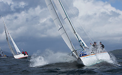 Pelle P Kip Regatta 2017 run by Royal Western Yacht Club at Kip Marina on the Clyde. <br /> <br /> GBR2496 , Valhalla of Ashton , Alan Dunnet , CCC , Swan 36<br /> <br /> Image Credit Marc Turner