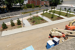 Central High School Bridgeport CT Expansion & Renovate as New. State of CT Project # 015-0174. One of 80 Photographs of Progress Submission 17, 30 June 2016. View from Roof