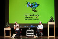 JULIA CAGE' E LUCA SOFRI<br /> FESTIVAL INTERNAZIONALE 2016