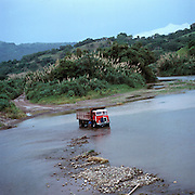 Lorry Wash on the Rio Grande