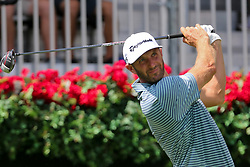 September 20, 2018 - Atlanta, Georgia, United States - Dustin Johnson tees off the first hole during the first round of the 2018 TOUR Championship. (Credit Image: © Debby Wong/ZUMA Wire)