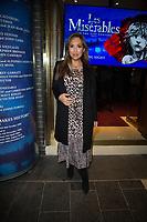Myleene Klass  at the  Les Miserable Press Night as the show goes on tour. Sondheim Theatre,  Shaftesbury Avenue, London.