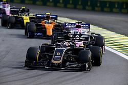 November 17, 2019, Sao Paulo, Brazil: Motorsports: FIA Formula One World Championship 2019, Grand Prix of Brazil, .#8 Romain Grosjean (FRA, Rich Energy Haas F1 Team) (Credit Image: © Hoch Zwei via ZUMA Wire)