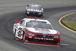 June 1, 2018 - Long Pond, Pennsylvania, United States of America - Paul Menard (22) brings his car through the turns during practice for the Pocono Green 250 at Pocono Raceway in Long Pond, Pennsylvania. (Credit Image: © Chris Owens Asp Inc/ASP via ZUMA Wire)