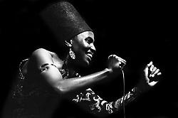 March 1, 2015 - Paris, Ile-de-France (region, France - Miriam Makeba, Festival Panafricain, 1969 (Credit Image: © Philippe Gras/Le Pictorium Agency via ZUMA Press)