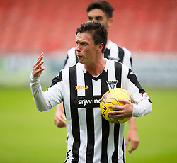 Dunfermline's Joe Cardle.<br /> Dunfermline 5 v 1 Cowdenbeath, Scottish League Cup game played today at East End Park.