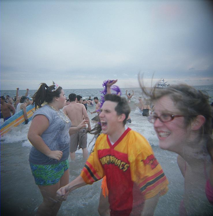 Frenzy, Polar Bear Swim, Coney Island, Brooklyn, 2008
