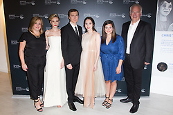 Carey Mulligan, Paul Dano, Zoe Kazan, Alex Saks, Richard Ford attends the photocall for 'Wildlife' during the 71st annual Cannes Film Festival at L'Espace Miramar on May 09, 2018 in Cannes, France. Photo by Nasser Berzane/ABACAPRESS.COM