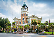 Live Oak.Florida.Suwannee River County Courthouse.U.S. National Register of Historic Places