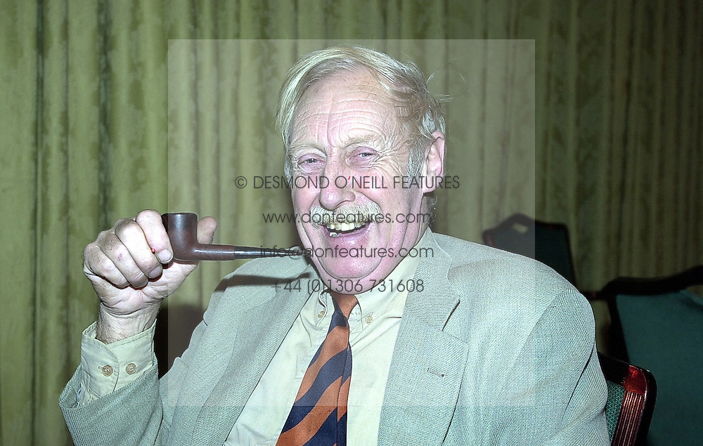 Inventor of the clockwork radio TREVOR BAYLIS, at a luncheon in London on 23rd February 2000.OBJ 1