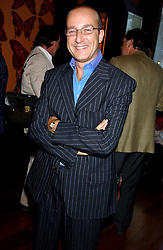 PAUL McKENNA at a party to celebrate the publication of 'Everything I Know About Men I Learnt From My Dog' by Clare Staples held at Fifty, St.James's, London on 7th September 2005.<br /><br />NON EXCLUSIVE - WORLD RIGHTS