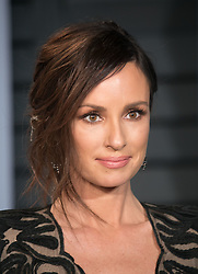March 4, 2018 - Beverly Hills, California, U.S - Catt Sadler on the red carpet of the 2018 Vanity Fair Oscar  Party held at the Wallis Annenberg Center in Beverly Hills,  California on Sunday March 4, 2018. (Credit Image: © Prensa Internacional via ZUMA Wire)