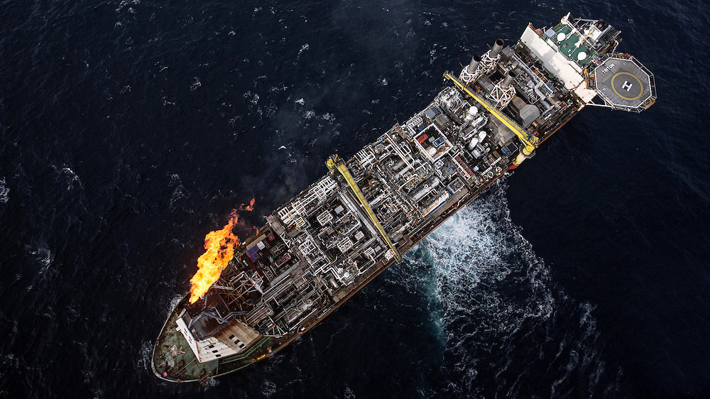 Offshore photography of for Dana Petroleum