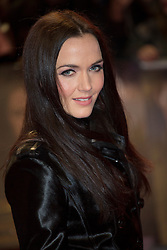 © licensed to London News Pictures. London, UK 14/11/2012. Victoria Pendleton posing on the red carpet at the UK premiere of the The Twilight Saga: Breaking Dawn Part Two in Leicester Square, London. Photo credit: Tolga Akmen/LNP