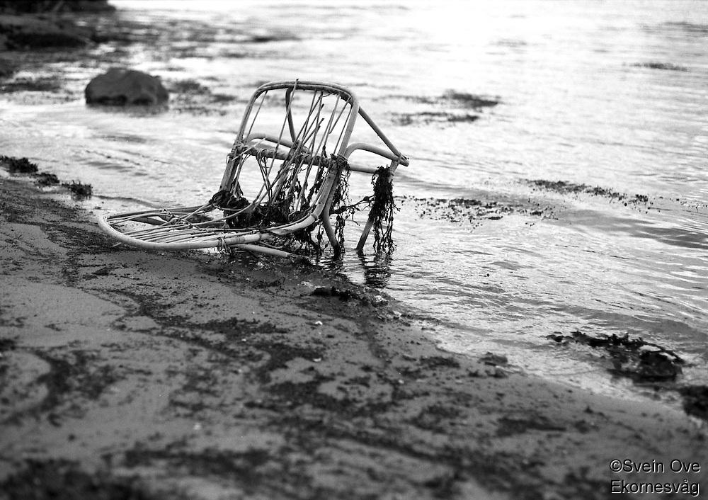 En gammel stol.<br /> Foto: Svein Ove Ekornesvåg