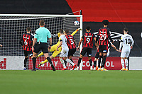 Football - 2020 / 2021 Sky Bet Championship - AFC Bournemouth vs. Derby County - The Vitality Stadium<br /> <br /> Graeme Shinnie of Derby looks on as his shot squeezes past the out stretched arm of Bournemouth's Asmir Begovic to open the scoring at the Vitality Stadium (Dean Court) Bournemouth  <br /> <br /> COLORSPORT/SHAUN BOGGUST