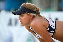 Simona Fabjan at tournament for Slovenian national championship - Drzavno prvenstvo Kranj 2013 on July 26, 2013, in Kranj, Slovenia. (Photo by Matic Klansek Velej / Sportida)