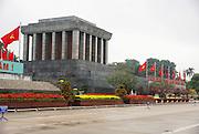 Ho Chi Minh Mausoleum, Ba Dinh Square, Hanoi, Vietnam
