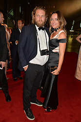 ALICE TEMPERLEY and GREG WILLIAMS at the GQ Men of The Year Awards 2016 in association with Hugo Boss held at Tate Modern, London on 6th September 2016.
