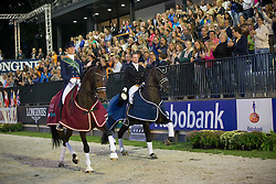Cornelissen Adelinde (NED) and Edward Gal (NED)<br /> CDIO5 Grand Prix Freestyle <br /> CHIO Rotterdam 2014<br /> © Dirk Caremans