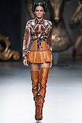 Maya Hansen in Mercedes-Benz Fashion Week Madrid 2013