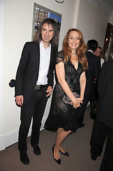 JERRY HALL and IVOR BRAKA at the annual Sotheby's Summer Party held at their auction rooms 34-35 New Bond Street, London W1 on 19th June 2008.<br /><br />NON EXCLUSIVE - WORLD RIGHTS