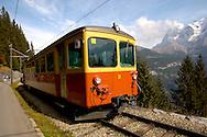 Murren Train - Bernese Oberland Alps - Switzerland