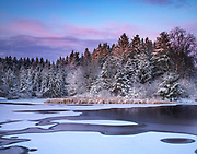 """Horseshoe Pond Sunrise<br /> <br /> 14"""" x 11""""<br /> See Pricing page for details. <br /> <br /> Please contact me for custom sizes and print options including canvas wraps, metal prints, assorted paper options, etc. <br /> <br /> I enjoy working with buyers to help them with all their home and commercial wall art needs."""