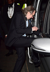 Gary Oldman leaving the BFI Southbank, London, the UK filming hub for nominees at the 93rd Academy Awards. Picture date: Monday April 26, 2021.