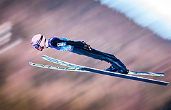31.12.2017, Olympiaschanze, Garmisch Partenkirchen, GER, FIS Weltcup Ski Sprung, Vierschanzentournee, Garmisch Partenkirchen, Qualifikation, im Bild Manuel Fettner (AUT) // Manuel Fettner of Austria during his Qualification Jump for the Four Hills Tournament of FIS Ski Jumping World Cup at the Olympiaschanze in Garmisch Partenkirchen, Germany on 2017/12/31. EXPA Pictures © 2018, PhotoCredit: EXPA/ JFK