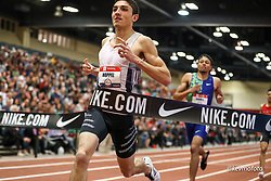 2020 USATF Indoor Championship<br /> Albuquerque, NM 2020-02-15<br /> photo credit: © 2020 Kevin Morris<br /> mens 800m final, adidas