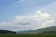 Mamakating, New York - Clouds over the Bashakill Wildlife Management Area on Sept. 6, 2013.