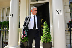 © Licensed to London News Pictures. 26/05/2016. London, UK.  JOSE MOURINHO leaves his home in west London amid ongoing speculation that he is due to be annouced as the new manager of Manchester United Football Club. Photo credit: Ben Cawthra/LNP