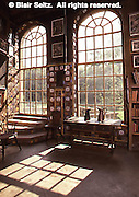 Interior, High Windows, Fonthill, Mercer home, Doylestown, Bucks Co., PA