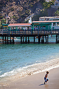 The Beach at Avalon Bay on Catalina Island