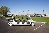 UNITED STATES-SUN CITY- Sun City, a retirement community in Arizona. Golf cars for sale. PHOTO: GERRIT DE HEUS .VERENIGDE STATEN-SUN CITY-  Sun City. Golfkarretjes te koop. PHOTO GERRIT DE HEUS