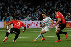April 8, 2018 - Nanterre, Hauts de Seine, France - Racing 92 Wing JUAN IMHOFF in action during the French rugby championship Top 14 match between Racing 92 and RC Toulon at U Arena Stadium in Nanterre - France..Racing 92 Won  17-13. (Credit Image: © Pierre Stevenin via ZUMA Wire)
