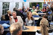 Prinses Máxima bezoekt Buurtvereniging Hoofdstraat-Noord in Gasselternijveen. Deze buurtvereniging organiseert verschillende sociale activiteiten rondom een cultuurhistorische perenbomenrij in de straat. In mei 2012 won de buurtvereniging een Appeltje van Oranje. ///// Princess Máxima visits the neighborhood association in Gasselternijveen. This neighborhood association organizes various social activities around a historic pear row of trees in the street. In May 2012 won the neighborhood association Apple of Orange.<br /> <br /> Op de foto/ On the photo:  Hoofdstraat in Gasselternijveen / Mainstreet in Gasselternijveen.