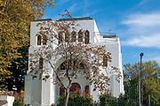Kadoorie Mekor Haim Synagogue AKA Kadoorie Synagogue at Rua Guerra Junqueiro in Porto, Portugal